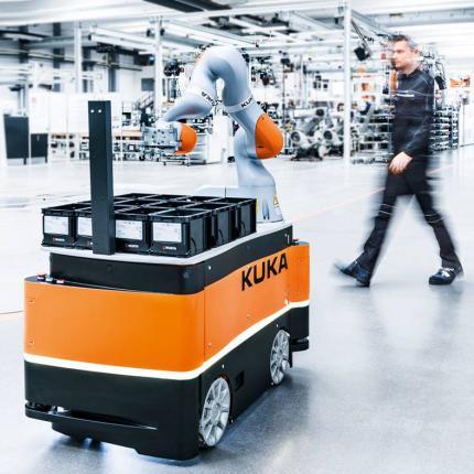 Robotersysteme von KUKA und IAG