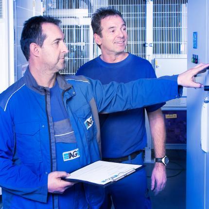 IAG Machine Audit für eine optimale Lebensdauer Ihrer Anlagen